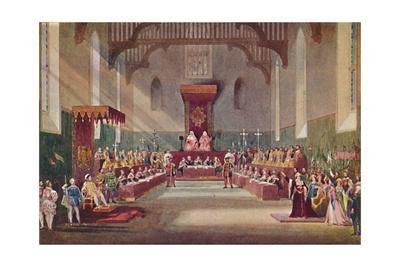 'The Trial Scene in Henry VIII', 1904
