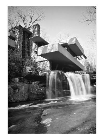 Frank Lloyd Wright, Falling Water--Art Print