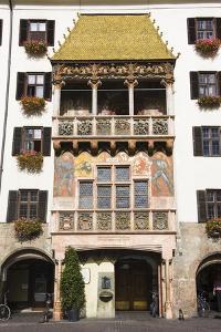 Austria, Tyrol, Innsbruck, Old Town, Goldenes Dachl (Golden Roof) by Frank Lukasseck