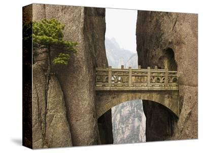 Bridge in the Huangshan Mountains