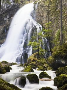 Golling Waterfall in Autumn by Frank Lukasseck