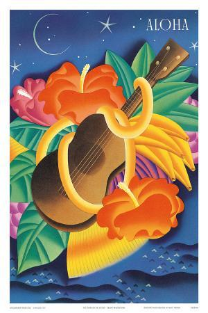 The Essence Of Aloha, Menu Cover c.1930s