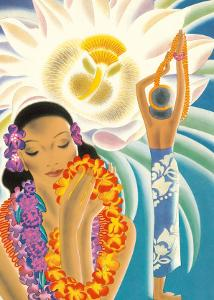 The Offering, Hawaiian Blessing by Frank MacIntosh