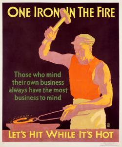 Iron in Fire by Frank Mather Beatty