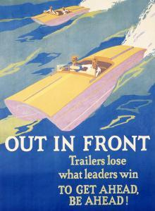 Out in Front by Frank Mather Beatty