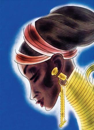 African Beauty with Neckpiece