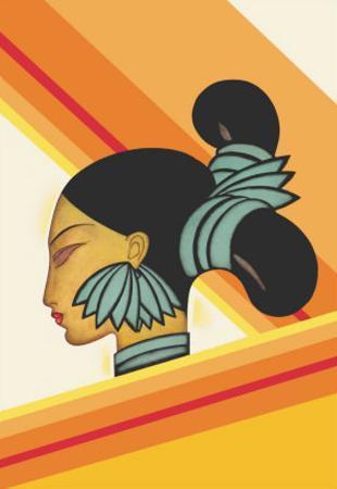 Hill Woman of Assam
