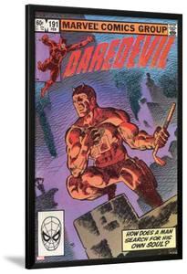 Daredevil No.500 Cover: Daredevil by Frank Miller