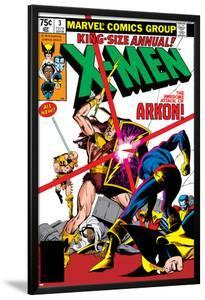 X-Men Annual No.3 Cover: Cyclops, Arkon and X-Men by Frank Miller