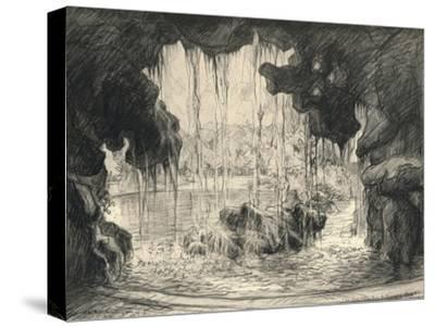 The Grand Cascade, Bois De Boulogne, 1915