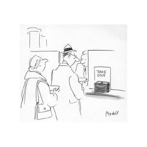 New Yorker Cartoon by Frank Modell