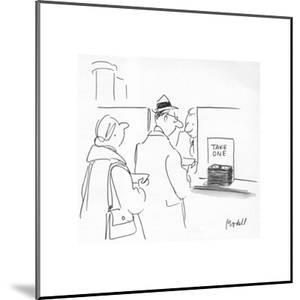 New Yorker Cartoon by Frank Modell