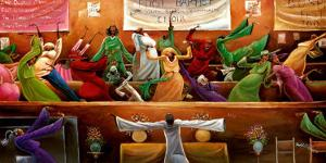 First Baptist Choir by Frank Morrison