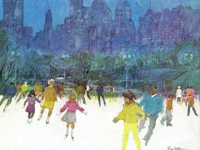 """Ice Skating in Central Park,"" January 5, 1963"