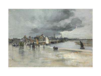 Harbour at St. Vaast, the Hague, 1882
