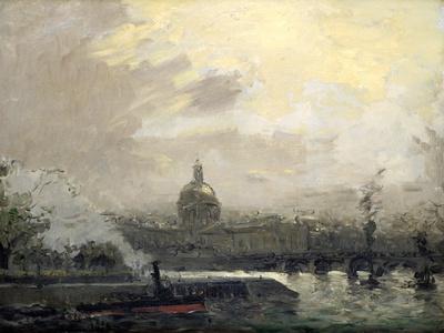 The Seine, Conti Quay, C19th Century