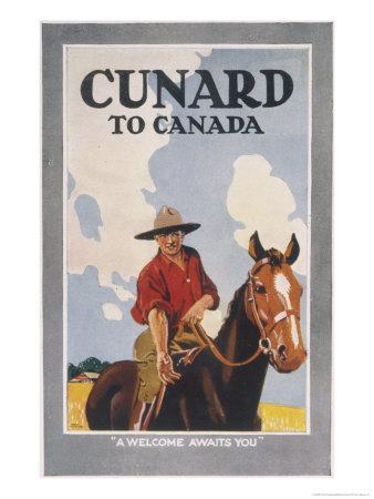 Cunard to Canada, a Welcome Awaits You