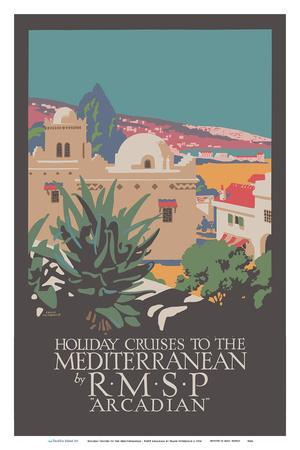 Holiday Cruises to the Mediterranean - RMSP Arcadian