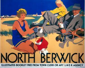 North Berwick, LNER, c.1923 by Frank Newbould