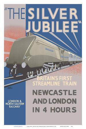 Silver Jubilee - Britain's 1st Streamline Train - London & North Eastern Railway