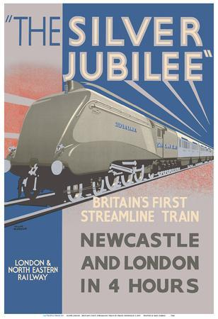 Silver Jubilee - Britain's 1st Streamline Train - London & North Eastern Railway
