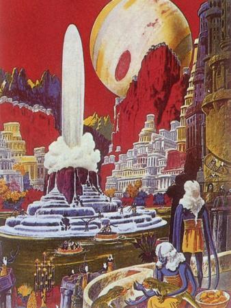 Futuristic City, 1941