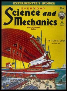 Giant Flying-Boats of the 1930s by Frank R. Paul