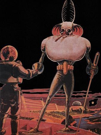 Sci Fi - Alien and Astronaut, 1939