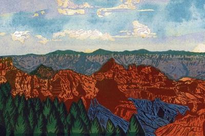Grand Canyon 1933 by Frank Redlinger
