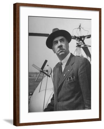 Aeronautical Engineer Igor Sikorsky, Inventor of Helicopter Capable of Sustained Flight
