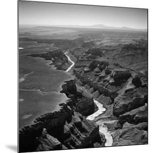 Colorado River Winding its Way Through Grand Canyon National Park by Frank Scherschel
