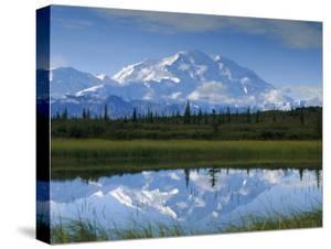 Tundra Ponds, Mt. Mckinley, AK by Frank Staub