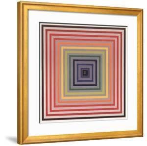 Letter on the Blind II by Frank Stella