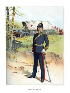 A Military Doctor, C1890 by Frank Teller