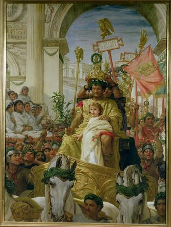 A Roman Triumph, 1838