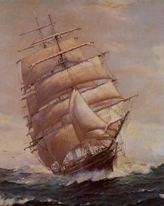 Romance of Sail by Frank Vining Smith