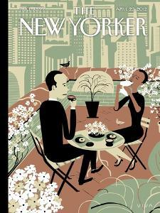 The Joys of the Outdoors - The New Yorker Cover, April 23, 2012 by Frank Viva