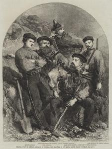 Personal Staff of General Garibaldi at Caprera by Frank Vizetelly