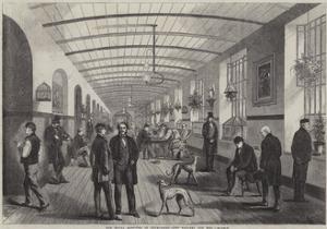 The Royal Hospital of Bethlehem, the Gallery for Men by Frank Vizetelly
