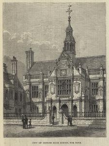 City of Oxford High School for Boys by Frank Watkins