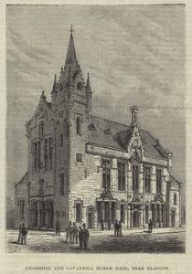 Crosshill and Govanhill Burgh Hall, Near Glasgow by Frank Watkins