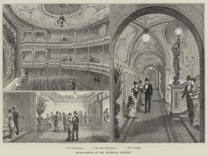 Improvements at the Criterion Theatre by Frank Watkins