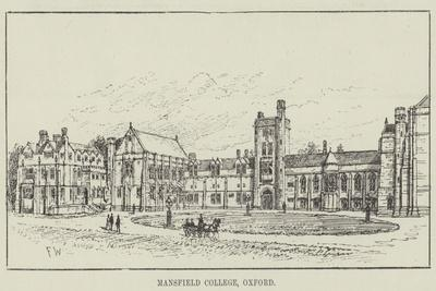 Mansfield College, Oxford