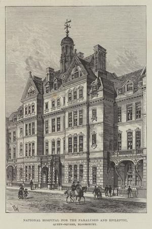 National Hospital for the Paralysed and Epileptic, Queen-Square, Bloomsbury