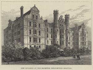 New Building at the Brompton Consumption Hospital by Frank Watkins