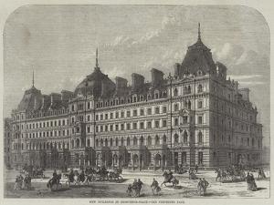 New Buildings in Grosvenor-Place by Frank Watkins