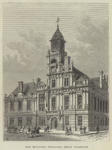 New Municipal Buildings, Great Yarmouth by Frank Watkins