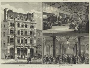 New Offices of the Daily Telegraph in Fleet-Street by Frank Watkins