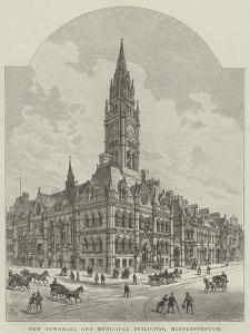 New Townhall and Municipal Buildings, Middlesbrough by Frank Watkins