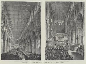Reopening of the Restored Nave of St Alban's Abbey by Frank Watkins